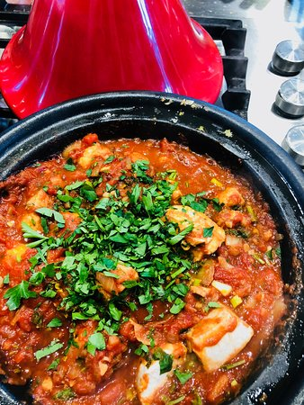 Trupp- The Chefs Table Cooking School: Enjoy Morrocan food - cooking and eating it! In this class, you will cook some Traditional Moroccan recipes found throughout the country from the coastal regions right into the Atlas Mountains such as Pies, Tagines, delectable salads, soups and sweets.