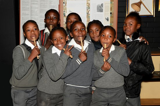 School groups come and learn all about the Traditional Music of Southern Africa