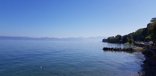 Evian, Genfer See