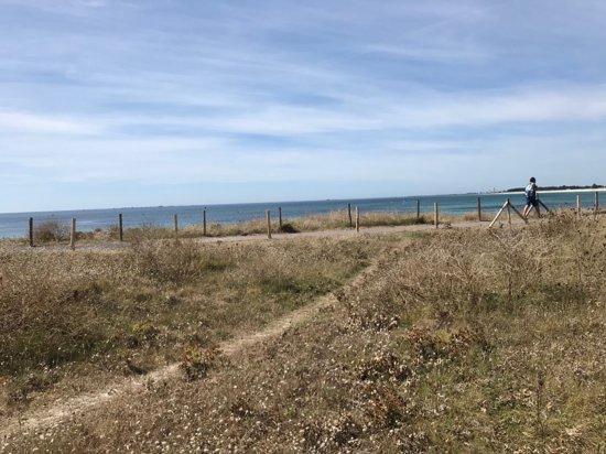 Guilvinec, Frankrike: Accès à la mer barré