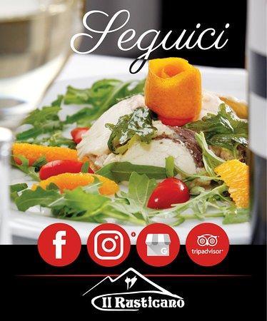 Per essere sempre aggiornato su tutte le #novità delle nostre creazioni culinarie 🍲 seguici 👉 sui #canali #social: Facebook, Instagram, TripAdvisor, Google My Business. Metti un like 👍 alle nostre pagine!