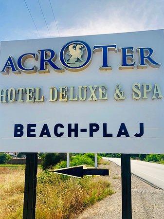 Acroter Hotel Datça - Tabela