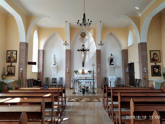 Roman Catholic Church: Интерьер церкви