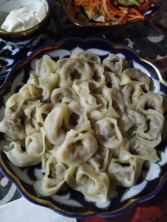 Bibikhanum Teahouse: dumpling