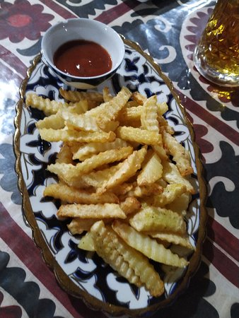 Bibikhanum Teahouse: fries