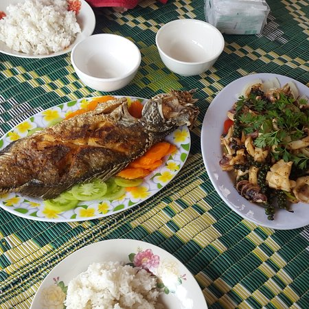 Kep Province, Cambodja: laid back feeling with a calmness Kep city provides it. good food , nice surrounding. worth a trip.