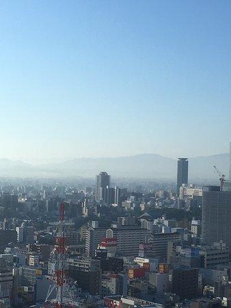 Swissotel Nankai Osaka: View from room during day