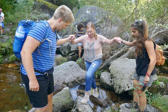 4x4 to waterfalls, lagoons & old village in Gerês Park with Lunch Included: River crossing