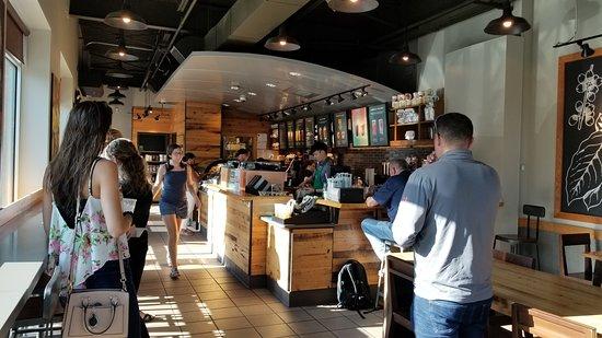 Starbucks: Interior