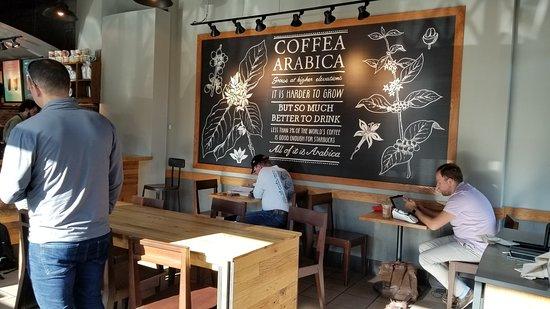 Starbucks: Seating