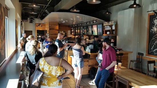 Starbucks: Busy Morning