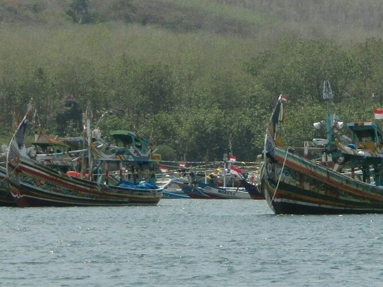 Grajagan, Indonesia: Fishing boat