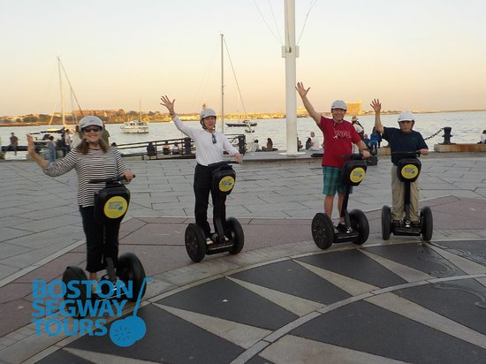 Boston Segway Tours: Join us on our#sunset#segway#toursfor an unforgettable time in#Boston. From the#FreedomTrailto the#harborside, you're sure to have some#funin the sun🌞www.bostonsegwaytours.net