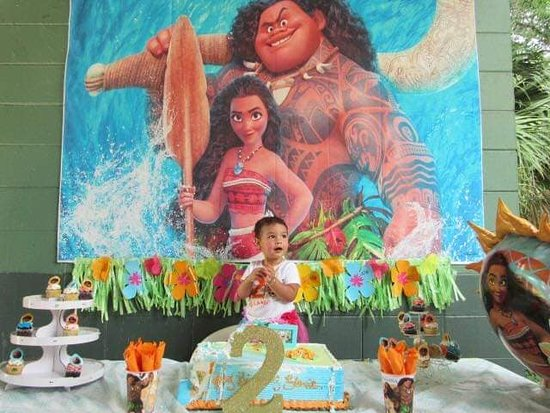 Al Lopez Park: ELANIE'S 2ND BIRTHDAY AT LOPEZ PARK WE HAD A GREAT TIME WITH THIS MOANA PARTY !!!!!!