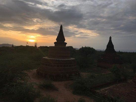 Bagan, Myanmar: sunset