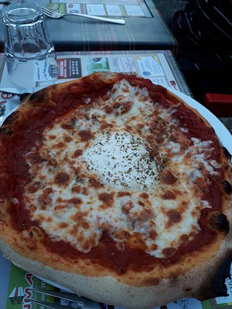 Pizza norvégienne.