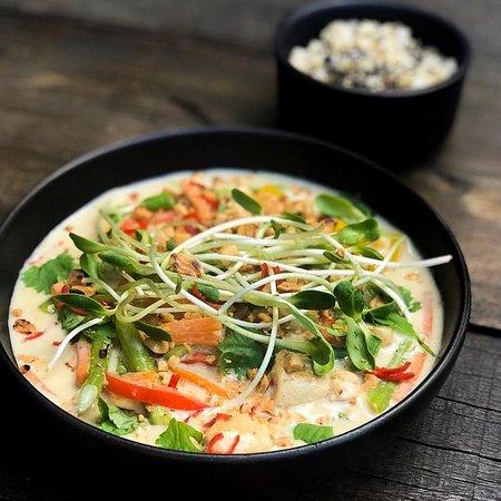 Bowl THAI - levemente apimentado, amamos!