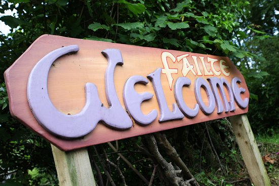 Moville Boutique Hostel: Welcome Sign