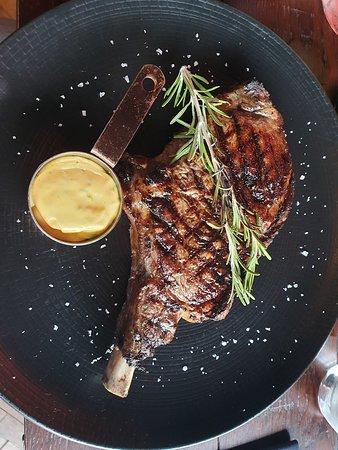 Butcher Restaurant: Cowboy Steak