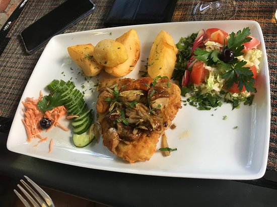 Kintai, Litauen: Boletus on fish was amazing