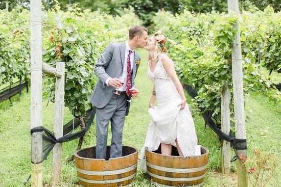 Stunning Weddings at Potomac Point Winery