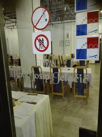 Topusko, Croatia: Uno dei ristoranti della struttura