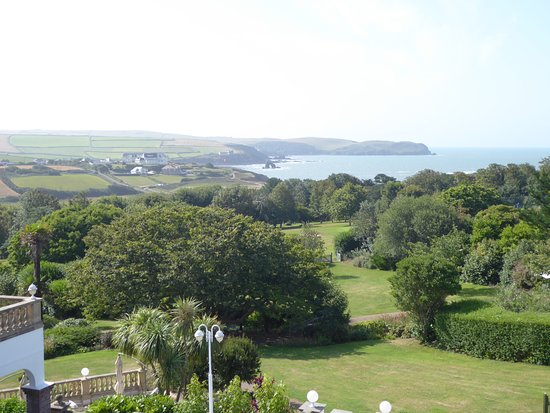 Thurlestone, UK: View from our room