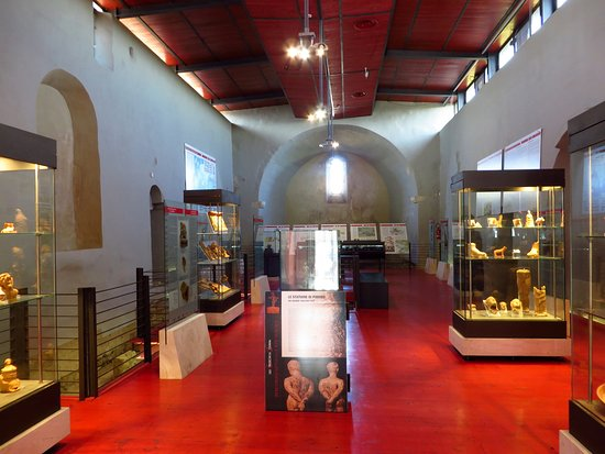 la sala che ospita il museo