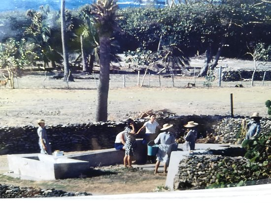 Gustavia, سانت بارتيليمي: photo prise  en  telescope 1975