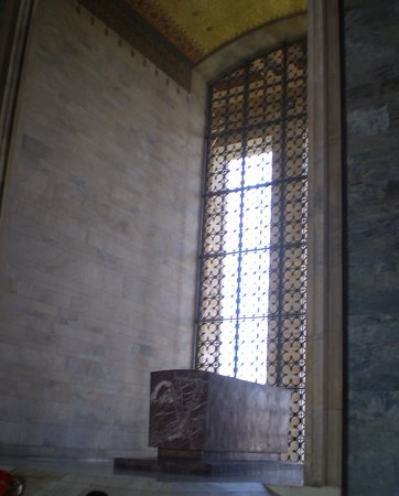 Το Μαυσωλείο του Ατατούρκ (Ανίτκαμπιρ): vista de la Tumba de Mustafa Kemal Atatürk