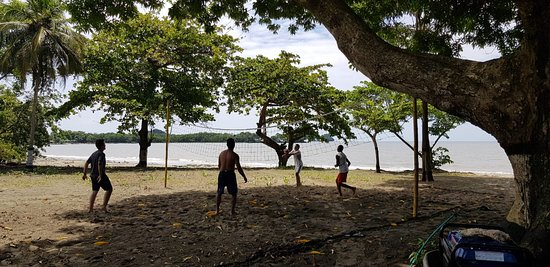 Choco Department, Colombia: VOLEYPLAYA FRENTE AL MAR
