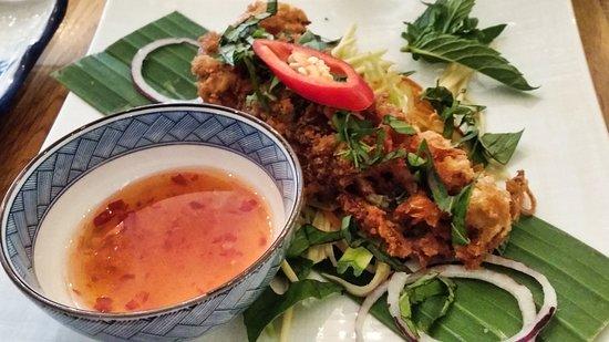 Restaurang Thuy: Soft crab