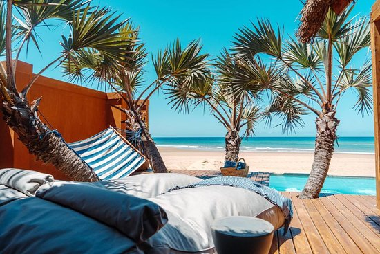 Praia da Barra, Mosambik: Lie back and relax
