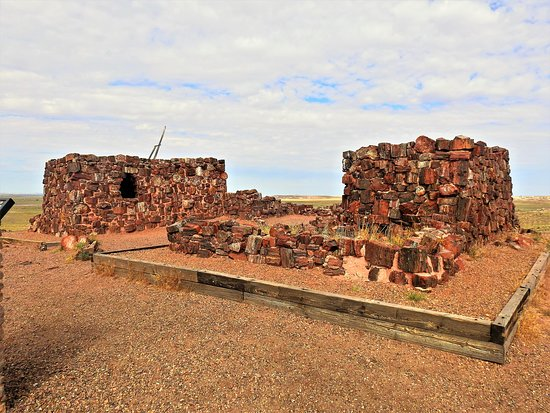 The Agate House - Petrified National Forest