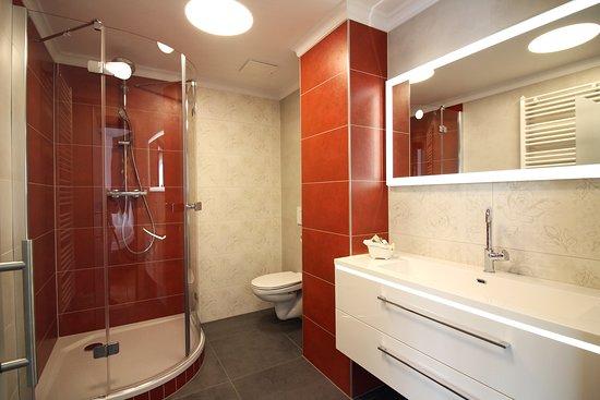 Badezimmer Apartment Sonnenschein
