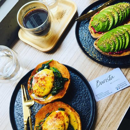 Must try the avocado beetroot toast