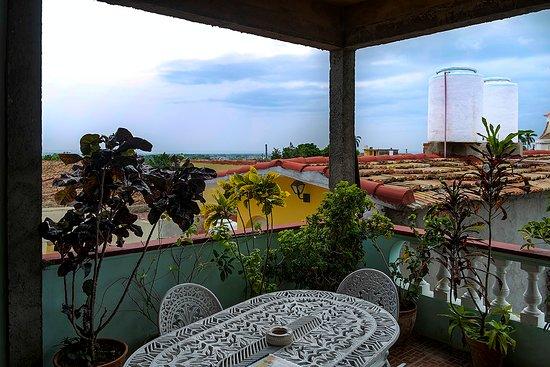 Terraza Y Zona De Comedor Exterior Picture Of Hostal