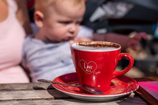 Love All Tennis Cafe: Yummy coffee