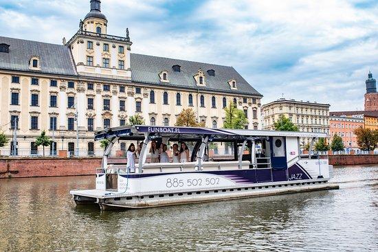 Funboat - Rejsy Wrocław