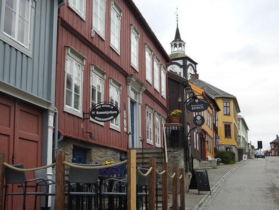 Roros Tourist Information: shopping street