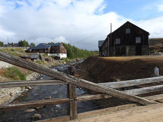 Roros Tourist Information: copper mine area