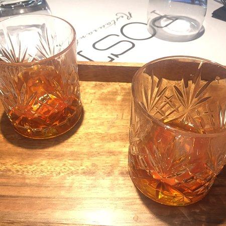 E per concludere Amaro Formidabile: profumatissimo, squisito, bellissima etichetta vintage e, soprattutto, servito in splendidi bicchieri