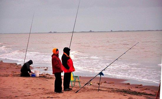 San Blas, Argentina: Pesca entre amigos
