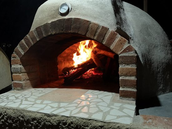 Preparing the Fire for our Monster Wooden Oven
