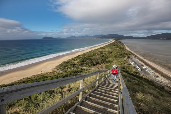 The Bruny Island Neck walk with Bruny Island Safaris