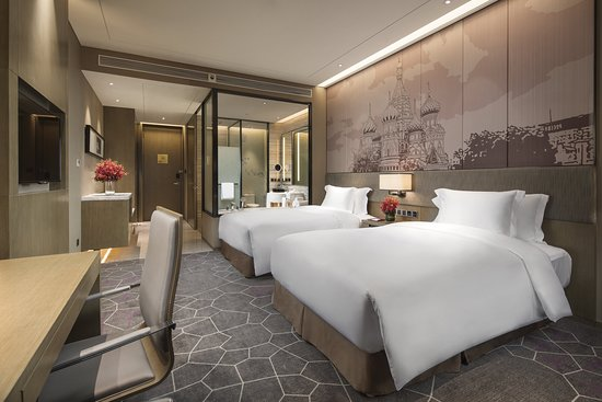 Crowne Plaza Harbin Songbei: Guest room