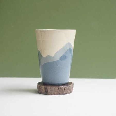 We would like to introduce the Ocean Cups collection 🌊 which is developed in collaboration between an independent ceramic studio based in Ho Chi Minh City and a traditional pottery making factory from Bien Hoa province to bring local sustainable materials, fine craft skills and unique contemporary designs to the modern life.