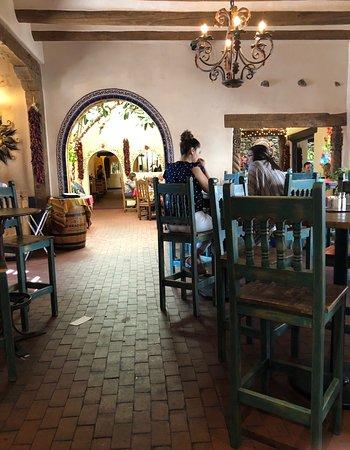 Interiors of La Posta de Mesilla