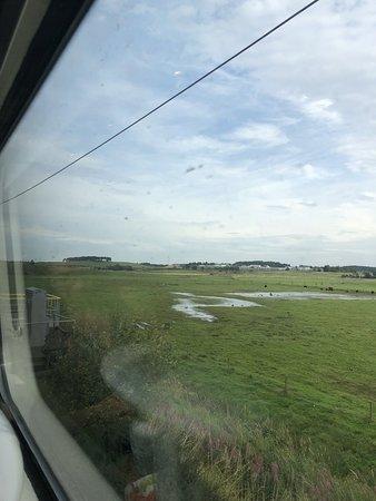 Virgin train : جيدة   فيرجيين للقطارات