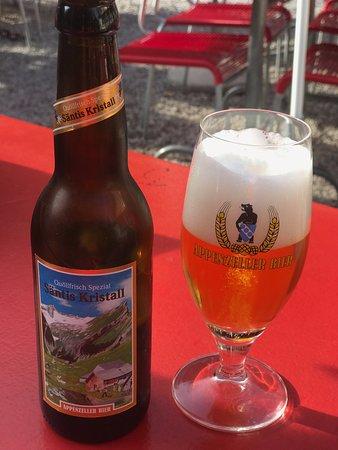Berggasthaus Seealpsee: アッペンツェル・ビール